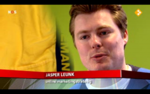 Jasper Leunk NOS Journaal online marketing